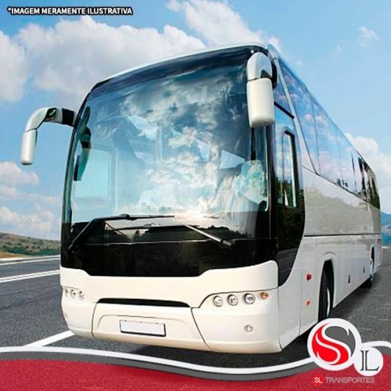 Aluguel de ônibus Executivo Chácara do Piqueri - Locação de ônibus Turismo