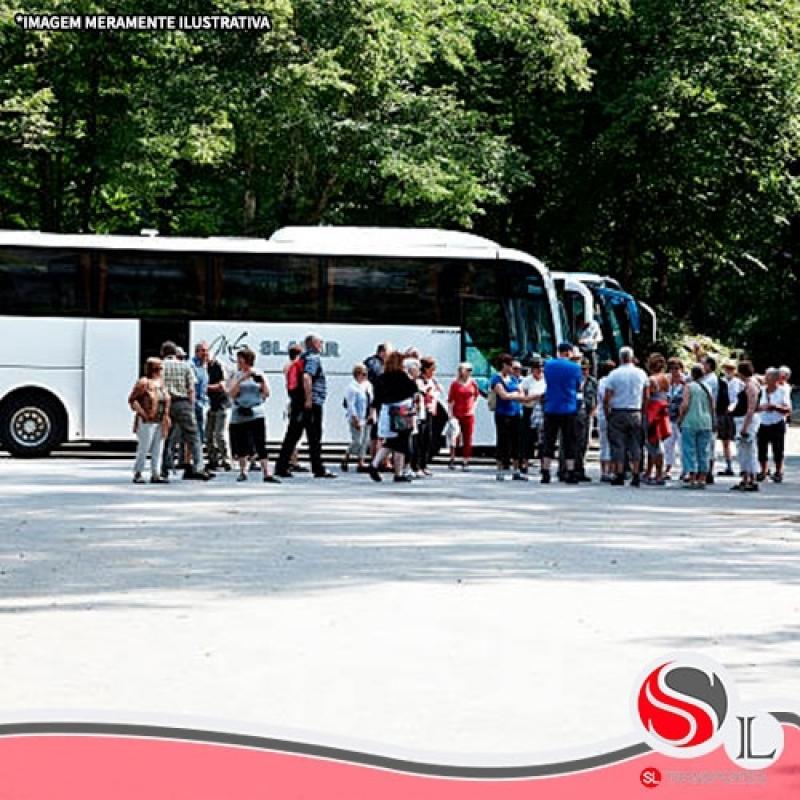 Aluguel de ônibus para Excursão Santa Cecília - Locação de ônibus Velório