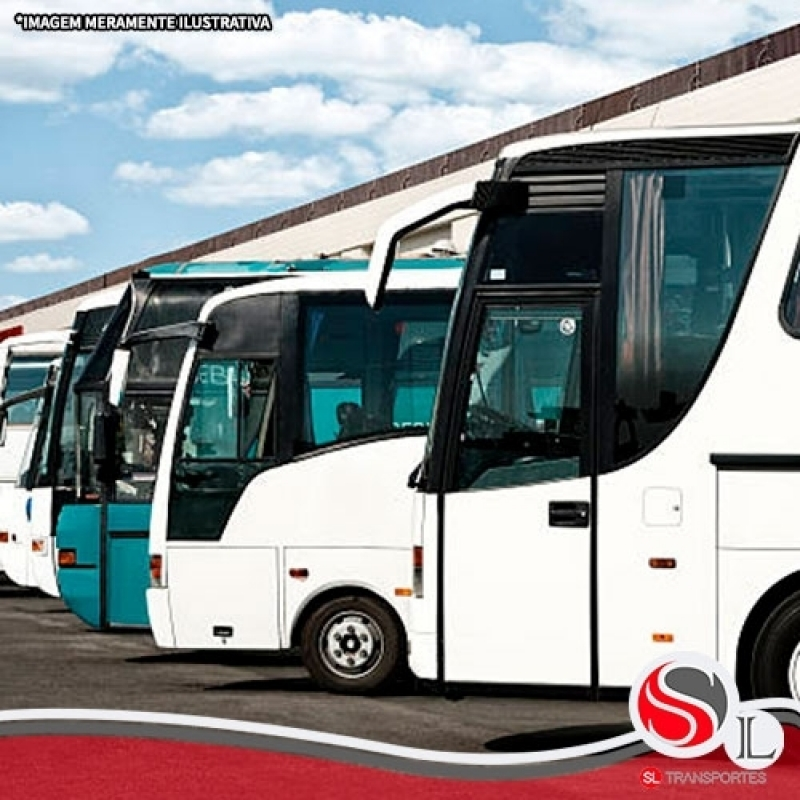 Aluguel ônibus Engenheiro Goulart - Locação de ônibus Turismo
