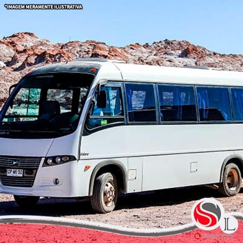 Locação Micro ônibus Valor Parelheiros - Locação de ônibus Velório