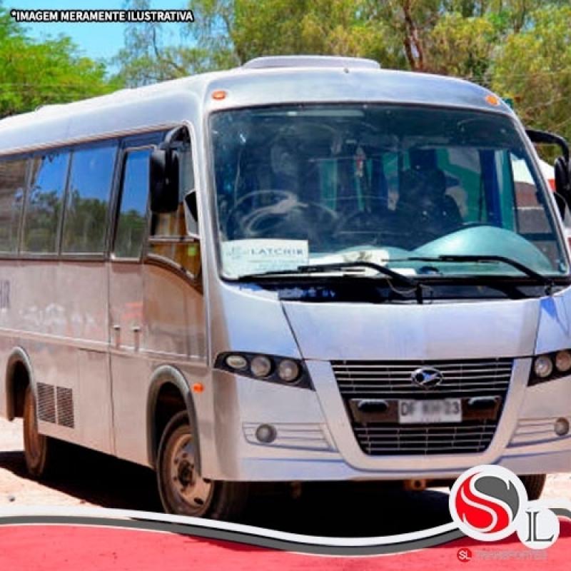 Locação Micro ônibus Cidade Ademar - Locação de ônibus para Turismo