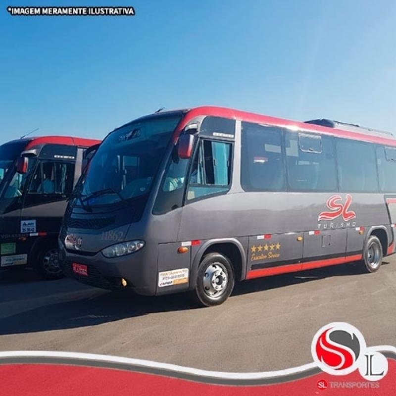 Preço de Locação ônibus Turismo São Mateus - Locação de ônibus Velório