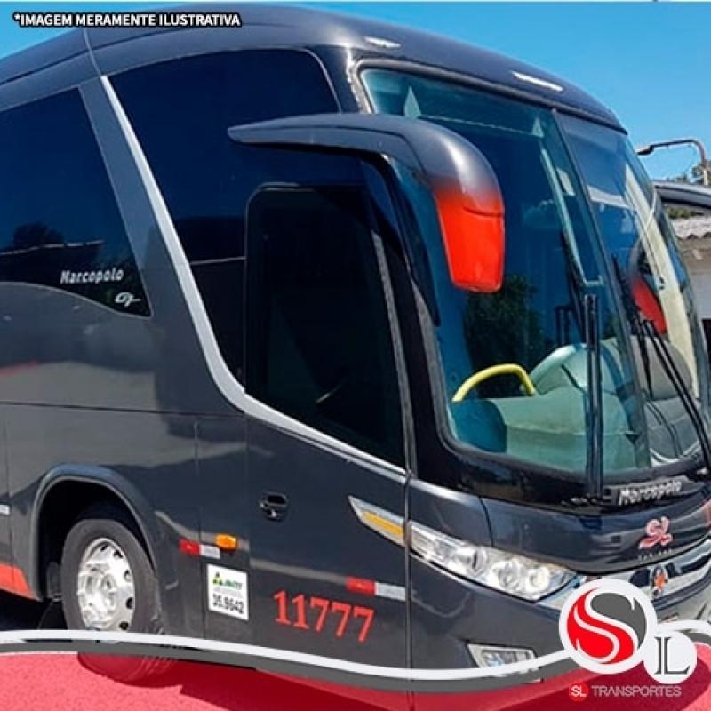 Preço de Locação ônibus Cachoeirinha - Locação de ônibus Velório