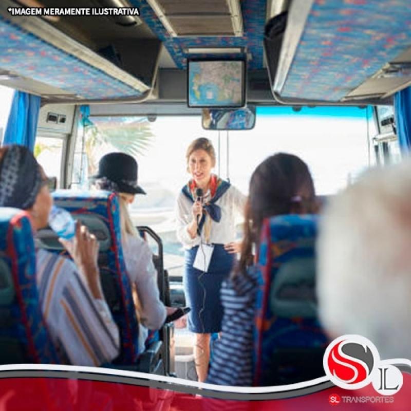 Serviço de Transporte Fretado para Empresas Sacomã - Transporte Fretado