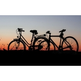 empresa de transporte bicicleta ônibus de turismo Jaçanã