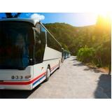 fretamento de ônibus para excursão valores Campo Belo