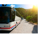 Fretamento de ônibus de Turismo