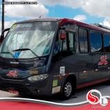 locação de ônibus para viagem
