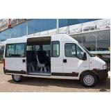 locação de van e micro ônibus valor Cidade Quarto Centenário