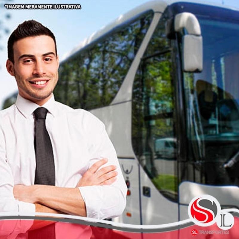 Transporte Fretado de Funcionários Valor São Domingos - Transporte Fretado