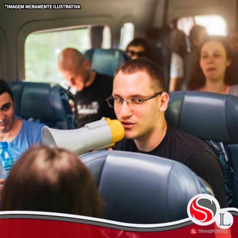 Transporte Fretado de Passageiros Valor Bela Vista - Transporte Fretado